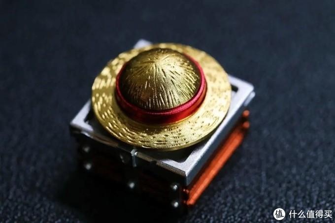 指尖的路飞草帽,入坑ZOMO海贼王立体金属键帽