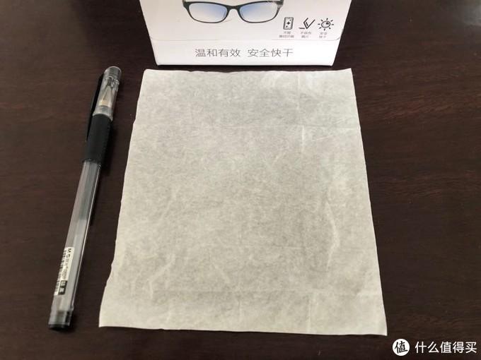 收智商税还是物有所值?0.5元一片的蔡司镜片镜头擦拭湿巾使用体验