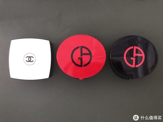 Chanel香奈儿果冻气垫&Armani阿玛尼红、黑气垫哪家强