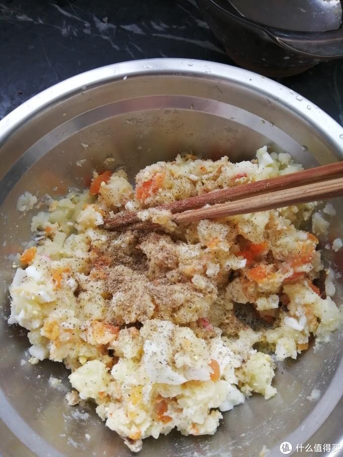 早餐一份减脂又好吃的简化土豆泥沙拉