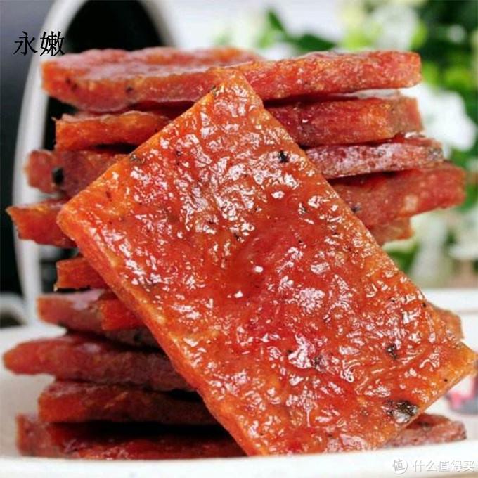 永嫩猪肉测评:十款市面常见的猪肉脯测评