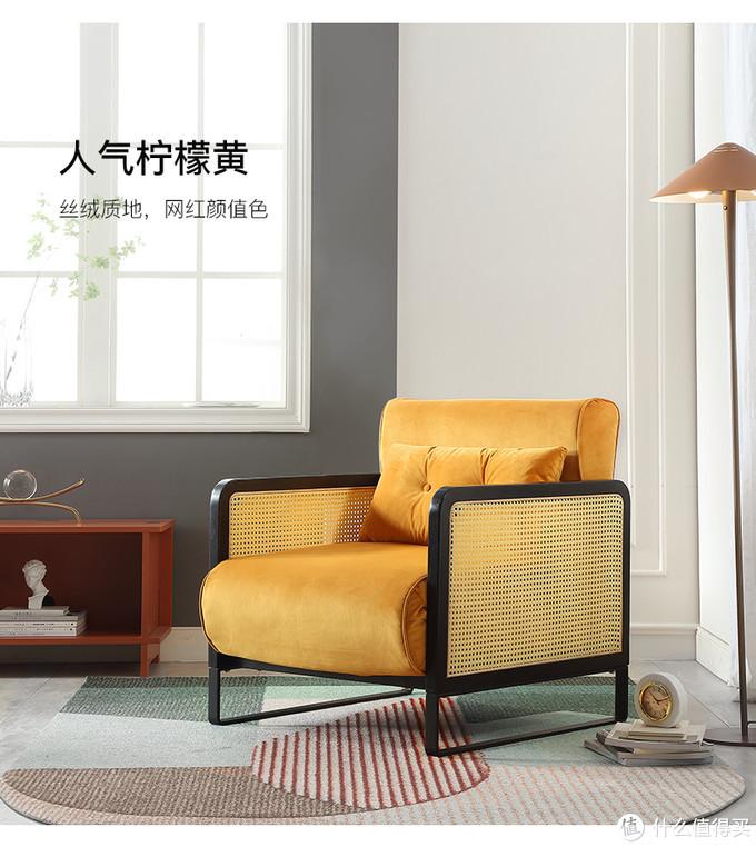 两口子吵架不用睡地板:汉哲可折叠单人沙发椅