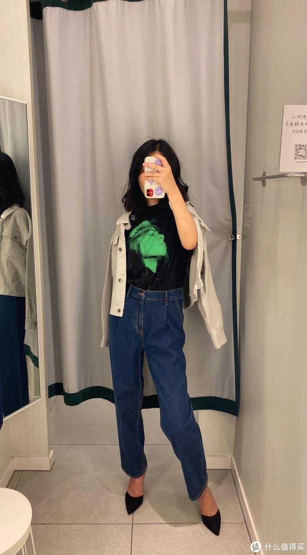 女生秋季穿搭——H&M+碧梨联名系列试衣,限定酷,范十足