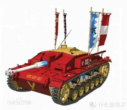 作为一款成功的武器,三号突击炮成为了动漫《少女与战车》中的参赛战车元素