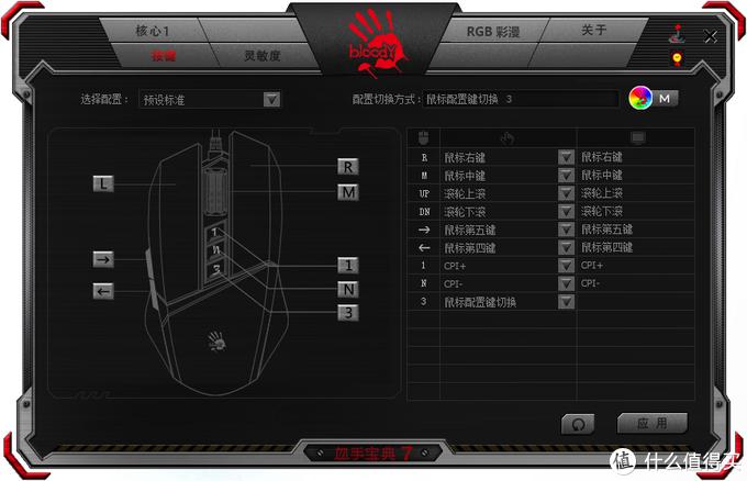 灵敏调校:血手幽灵V8M Max RGB彩漫鼠评测