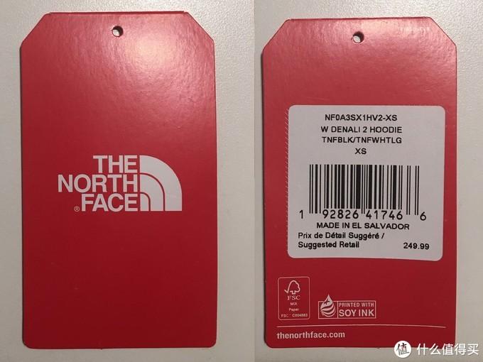 抓绒 The North Face 北脸 DENALI 2代 连帽夹克 三十年的经典