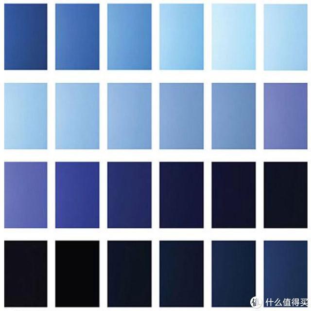 你说的蓝到底是什么蓝?