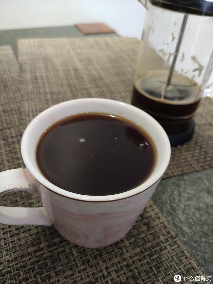 ▲ 我留了大概五分之一咖啡液倒掉