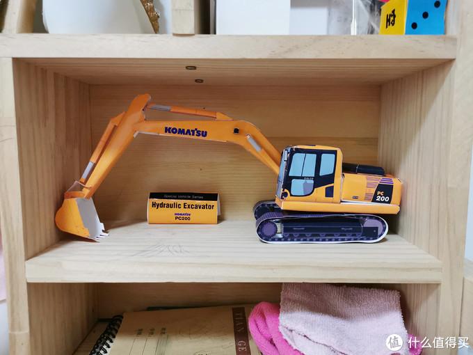 想玩挖掘机,自己做一个——A4纸变身挖掘机