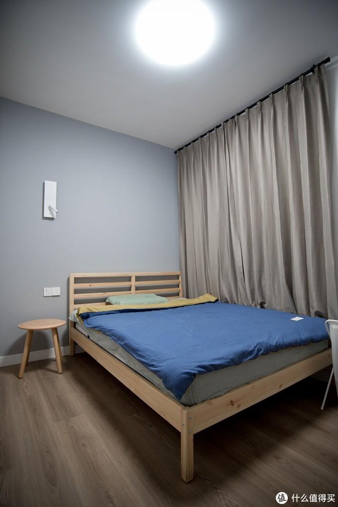 我家卧室选了福乐阁的彩漆。