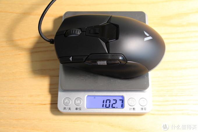 流光溢彩双滚轮,电竞场上风火轮-雷柏V330游戏鼠标测评