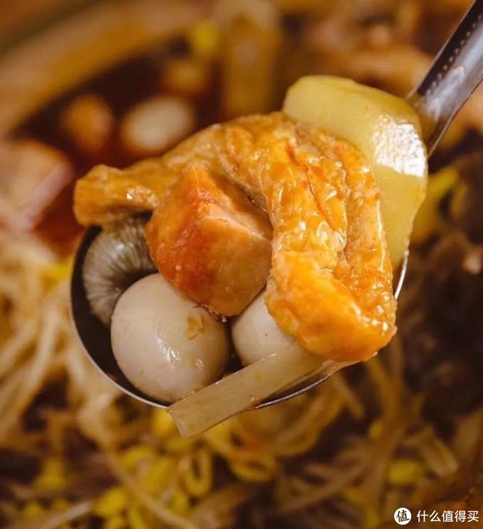 各种配菜真的可以让你一锅就吃饱