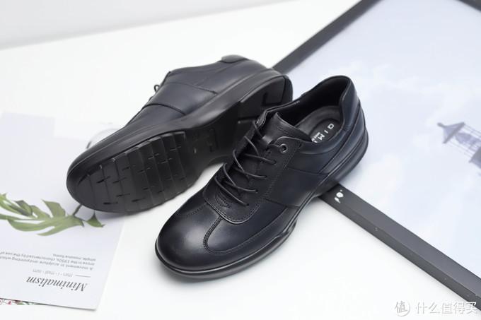 90后上班族第一双皮鞋?七面缓震运动皮鞋体验