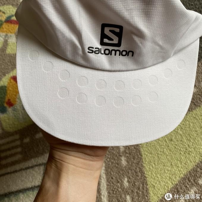 超轻超透气!Salomon跑步帽