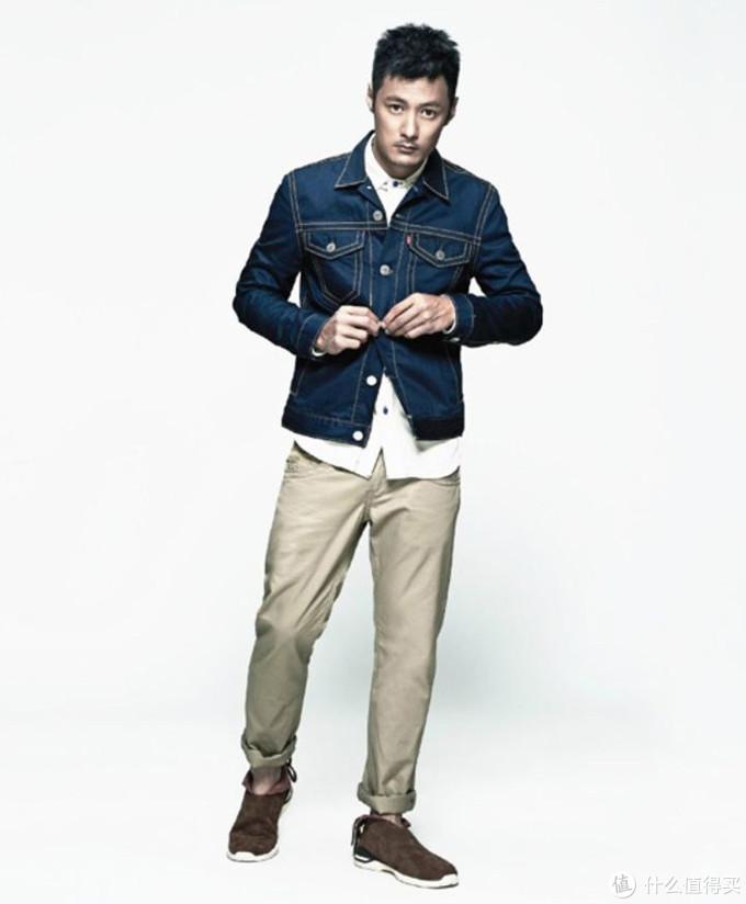 秋季如何把一件简单的牛仔夹克,穿的帅气又有型