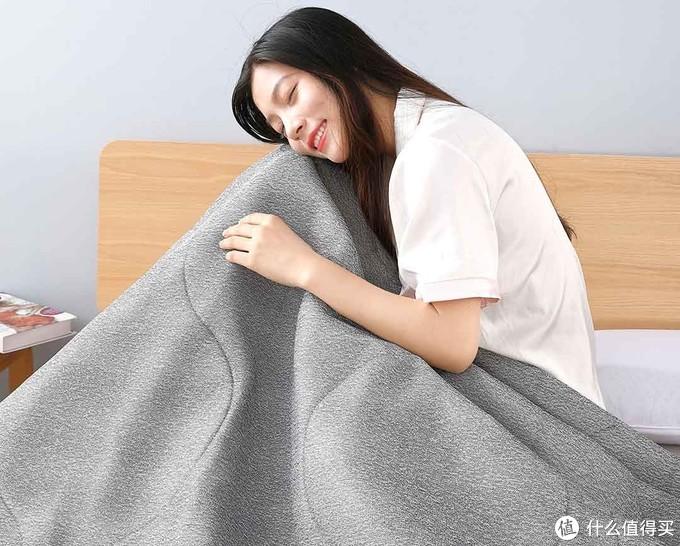 小米有品众筹上新 水星简色石墨烯智能发热床垫 分区加热 高效安全