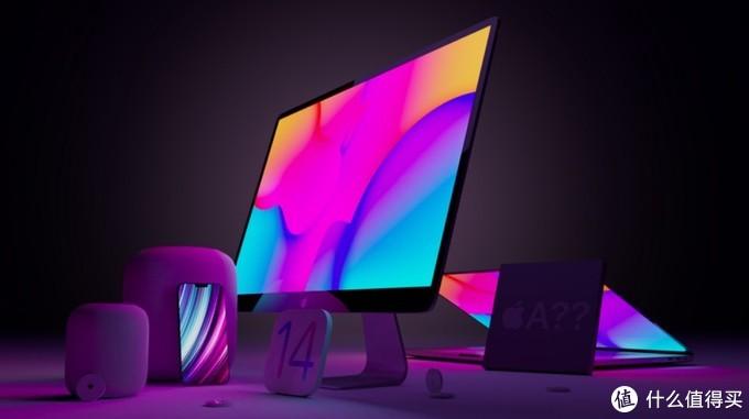 ▲ 窄边框的iMac会和A14X一起面试吗?大家一起期待。