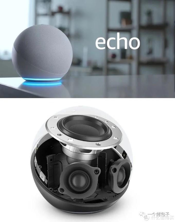 新Echo智能音箱。网络图片,侵删。