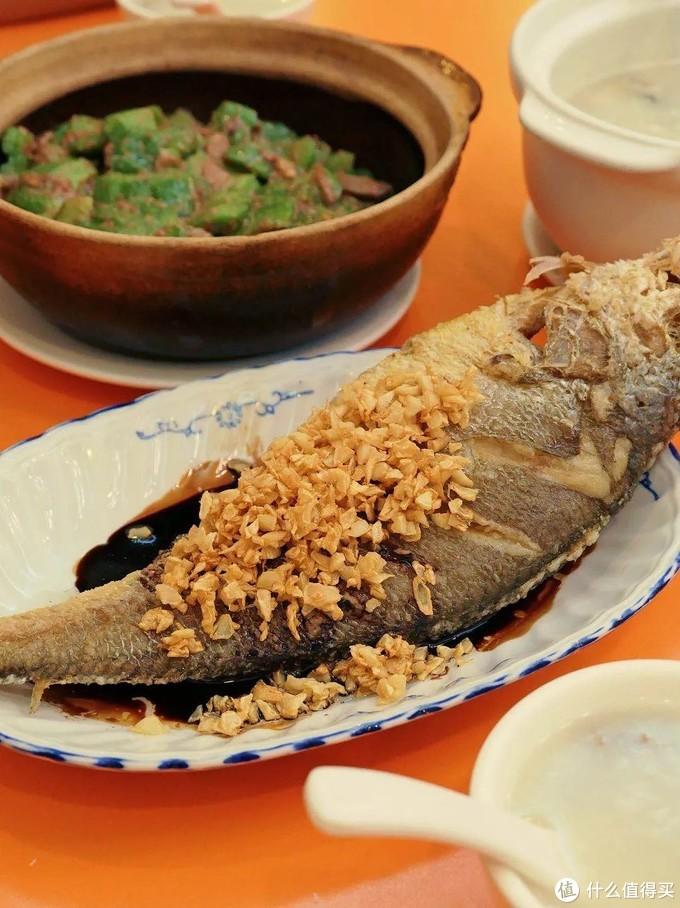 雅苑餐厅的豉油糖黄花鱼