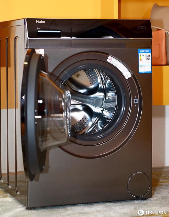 2020年洗衣机必选滚筒?海尔拿出一台晶彩10KG变频滚筒洗衣机