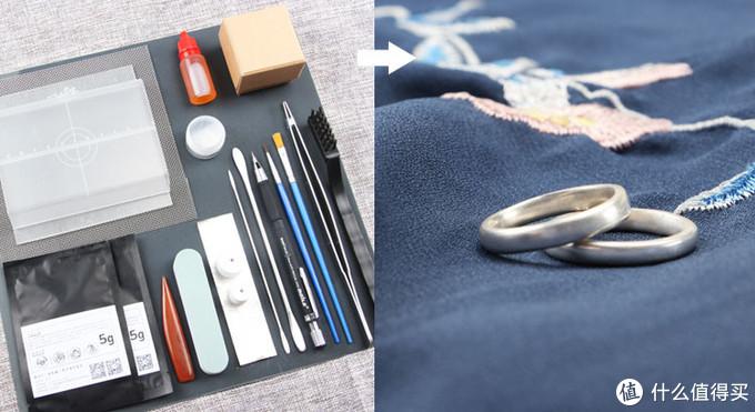 欲呈纤纤手,从郎索指环:银黏土DIY手工戒指体验