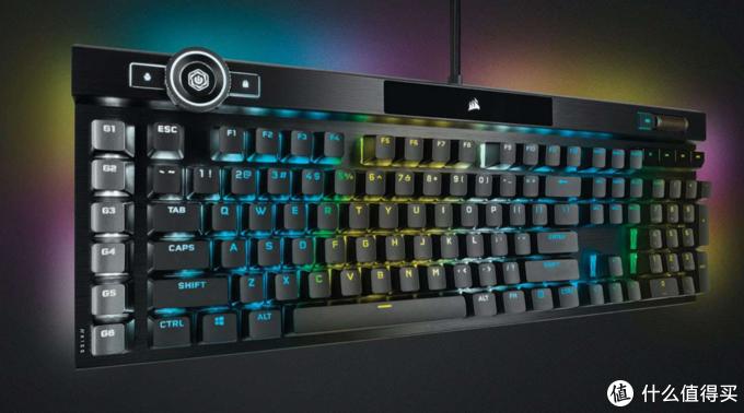 美商海盗船发布K100 RGB机械键盘:自研OPX光轴、iCUE控制中枢