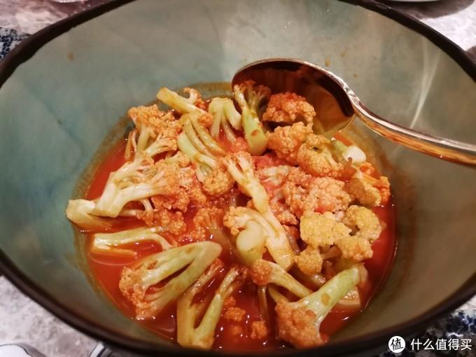 番茄煮花菜