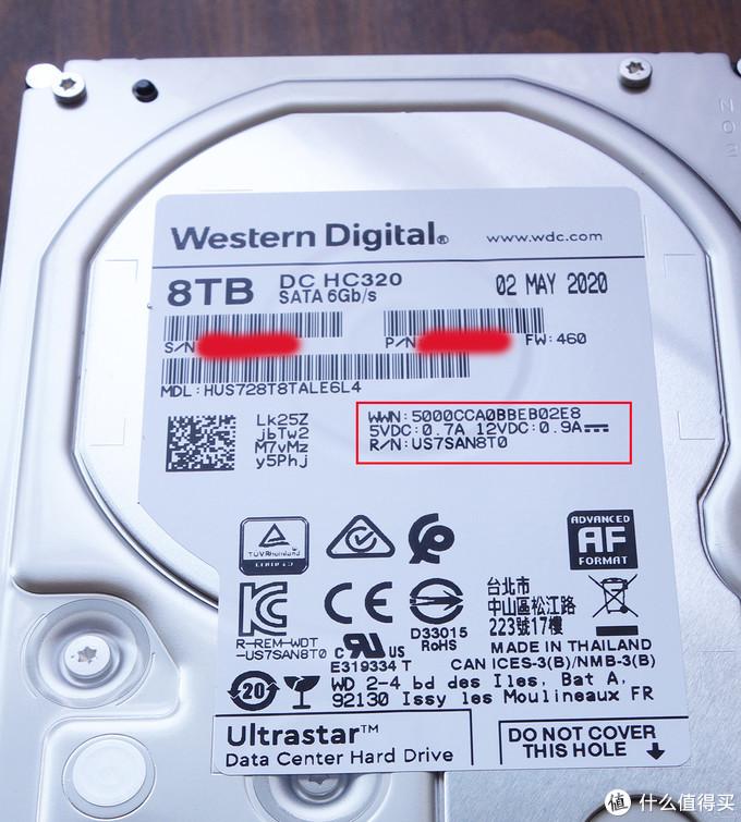 真相侠!西部数据HGST企业级硬盘适用于NAS的功耗和发热分析!