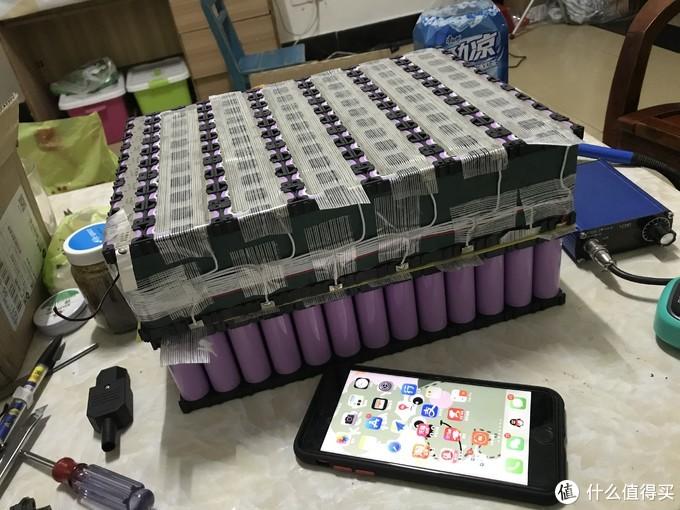为了跑更远,个人新手锂电池组装折腾记