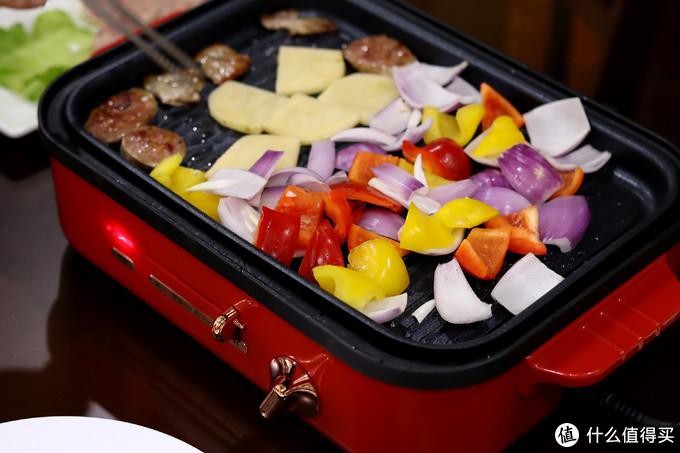 烤蔬菜土豆