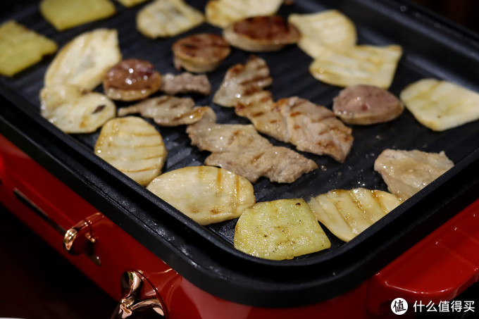 烤杏鲍菇和肉