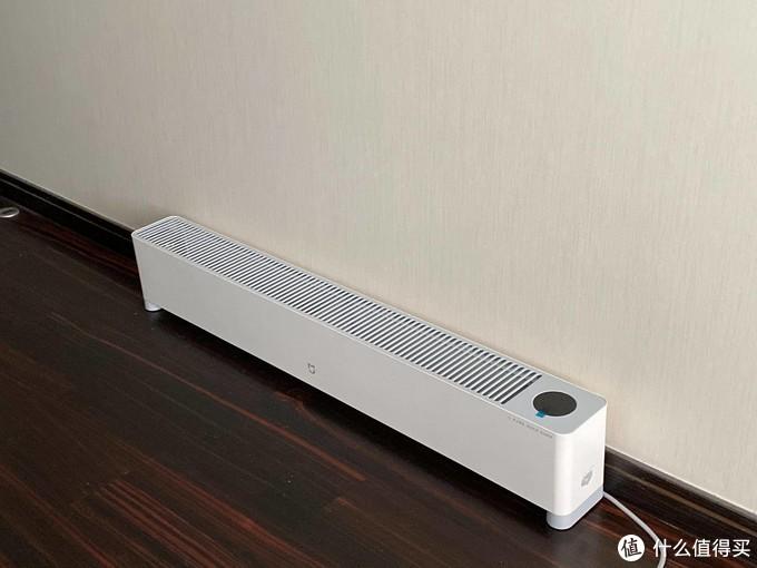 低一点,暖一点,取暖还靠空气动力学!米家踢脚线电暖器E