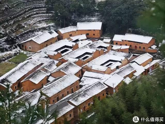 ▲江南的雪,一大半都落在了大山里 图:@宋世和