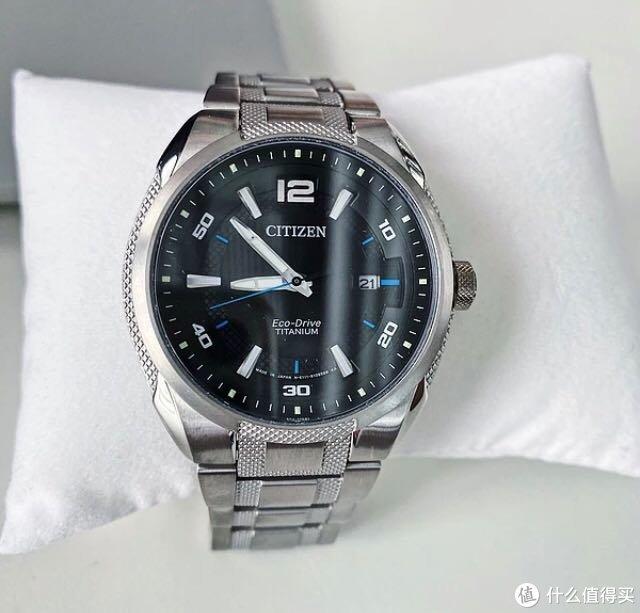 J网购入西铁城钛合金蓝宝石手表BM6901-55E,真帅真香