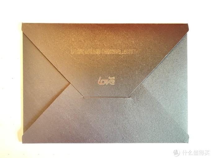 盒子里面有一封这样的信笺