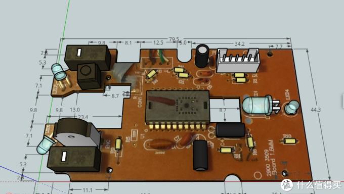 简单鼠标PCB