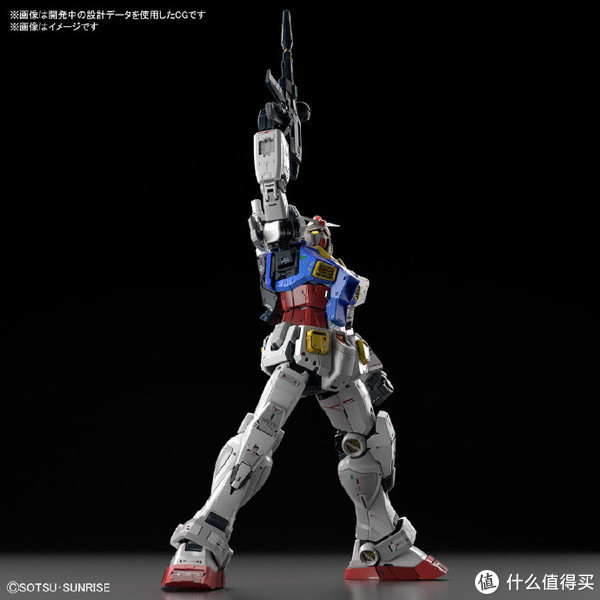 BANDAI 万代 Gundam PG Unleashed 1/60 RX-78-2 元祖高达
