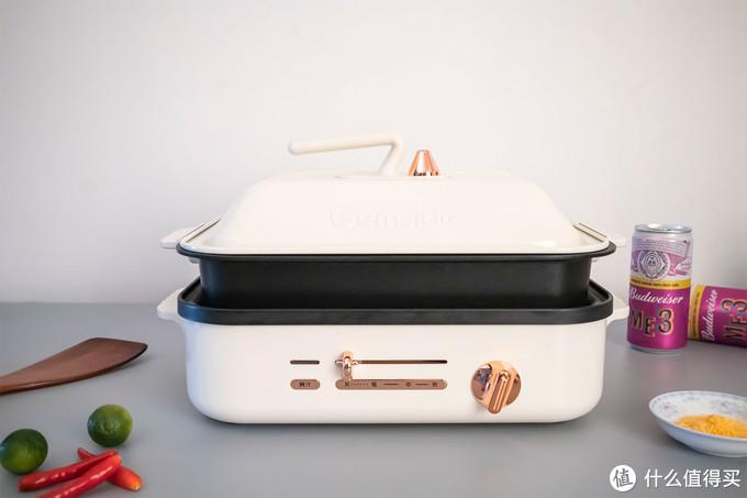 小白秒变大厨,Gemside 捷赛智能IH煎烤炉测评