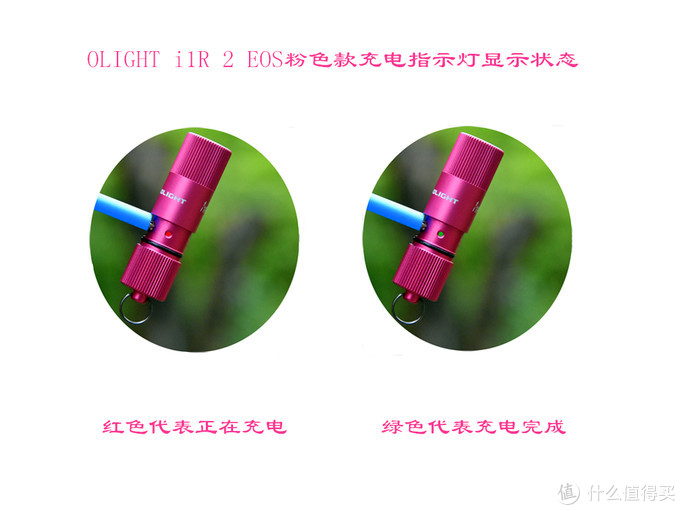 "为爱坚守 为爱点亮--OLIGHT i1R 2 EOS""粉红丝带"""