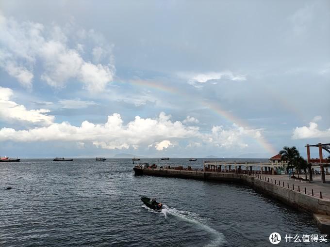一浪一彩虹