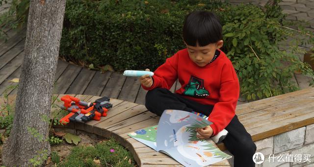 小爱助力&小米生态:机器岛WIFI点读笔启蒙套装体验