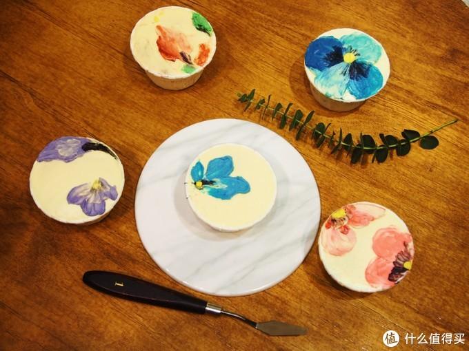 水墨画纸杯蛋糕