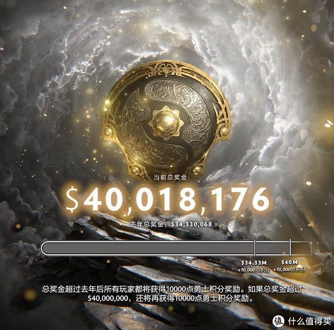 TI10总奖金破4000万美金再创新纪录,勇士令状已截止
