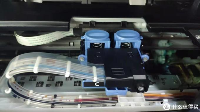 佳能G3800打印机管道进空气修理和5200报错的处理