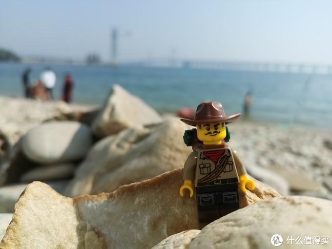 海边发呆,拍照
