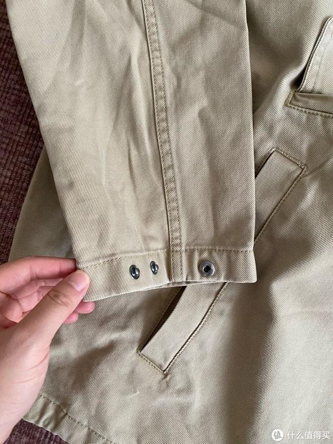 两折购入Gap卡其套装,晒单分享。