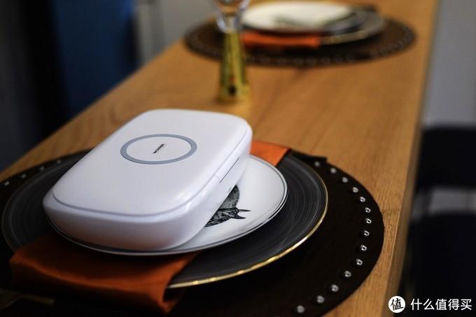 杀菌消毒 无线充电 闪净Pro无线充电紫外线杀菌盒