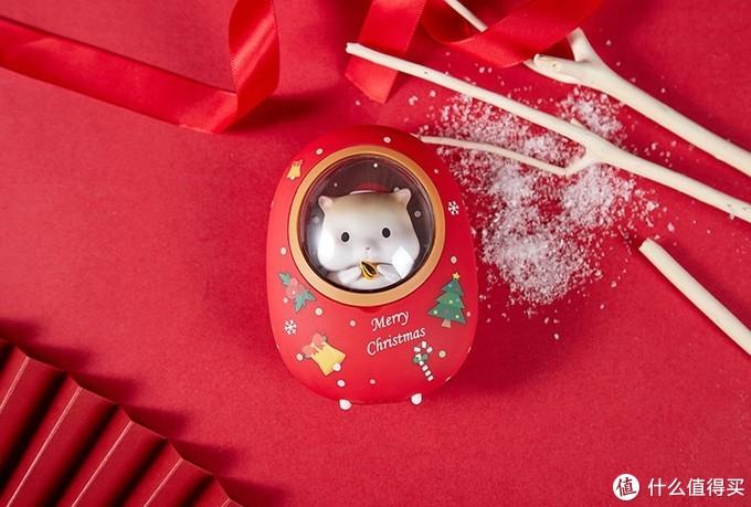 红色仓鼠圣诞款