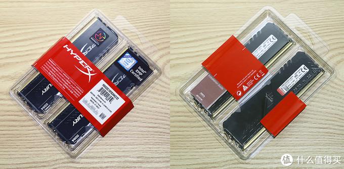 金士顿 HyperX Fury DDR4内存 包装