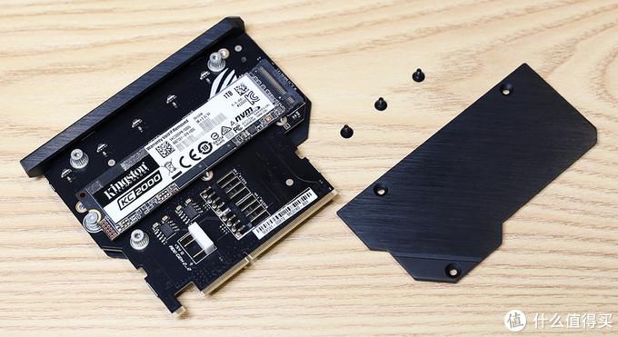 金士顿 KC2000 M.2 固态 适配SO Dimm.2扩展卡效果